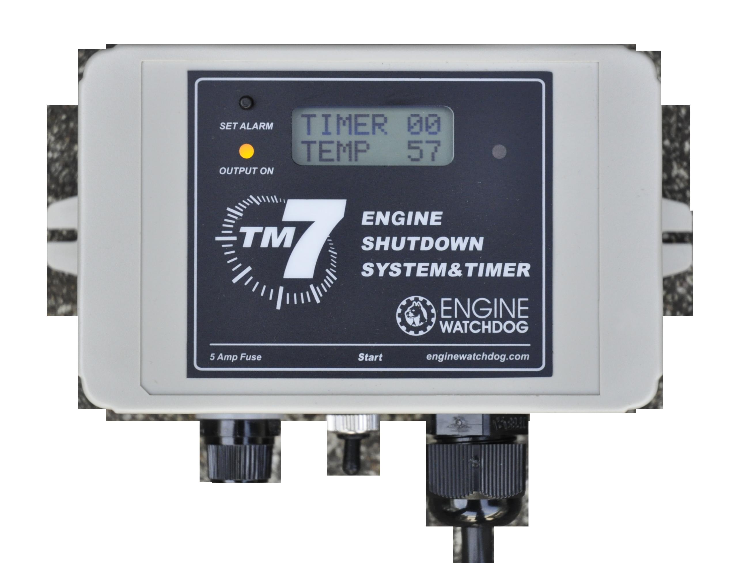Engine Watchdog Tm7 Overheating Alarm Gauge Sensor 24 Hour Timer Circuit 48 Run